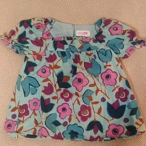Genuine kids 2t Tunic Floral Top
